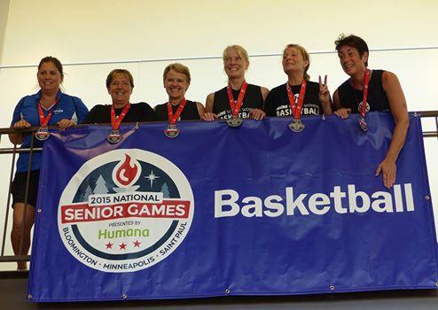Maine Triple Threat, the 2015 Silver Medal team in Minneapolis (55-59 yr)